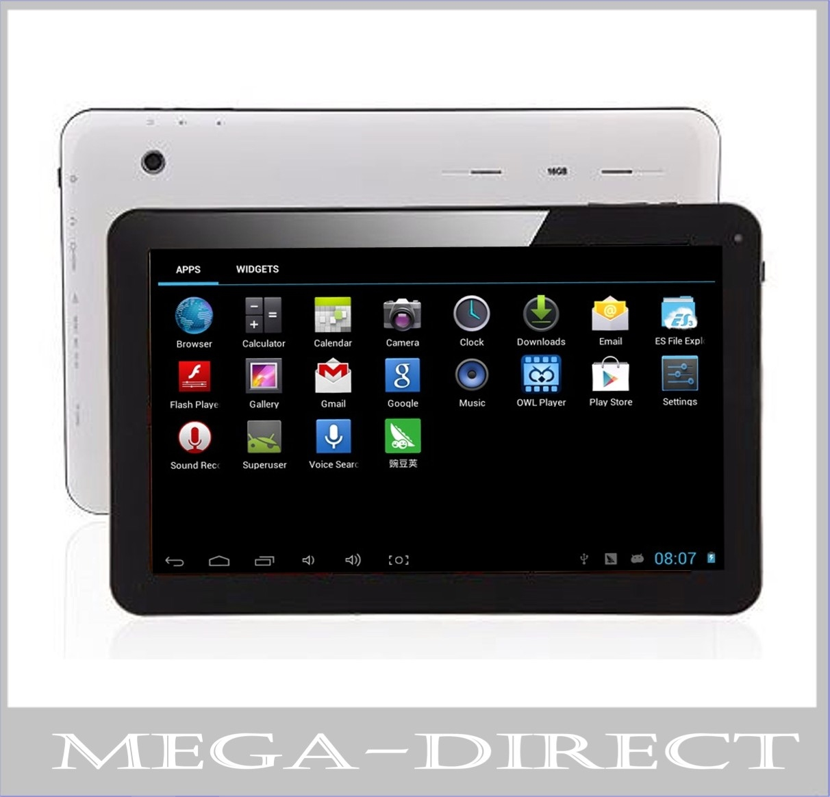10 Inch Android Tablet Pc