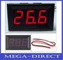 DC 4.5-30V  Digital Display Voltmeter 3Bit Red LED