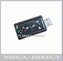 USB 2.0 to 3D External 7.1-Channel Virtual Audio Sound Card