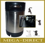 SET Keg drukvat 2,5 Gallon - 9,45 liter Ball Lock Cornelius